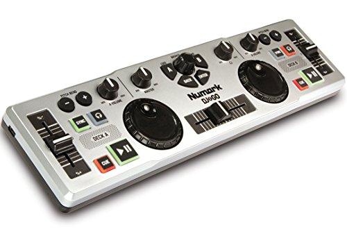 Numark DJ 2 Go Ultra-Portable USB DJ Controller for Mac or PC (Numark Portable Dj Controller compare prices)
