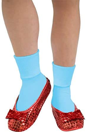Rubie's Costume Wizard Of Oz Deluxe Adult Dorothy Sequin Shoe Covers, Red, One Size Fits Most