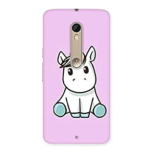 AJAYENTERPRISE Pink Drawing Back Case Cover for Motorola Moto X Style