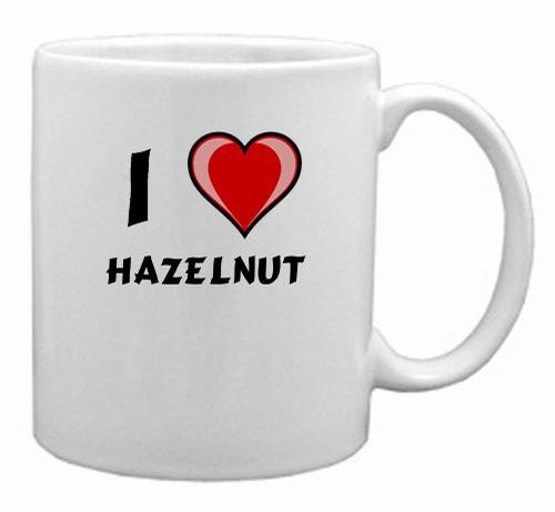 I Love hazelnut Mug