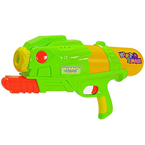 KiiSports Water Gun - Water Blaster Hand Pumped Water Cannon with Single High Powered Nozzle and Long Range Shooting! Holds 46 Ounces of Water + KiiSports Warranty (Green) (Water Cannon Helicopter compare prices)