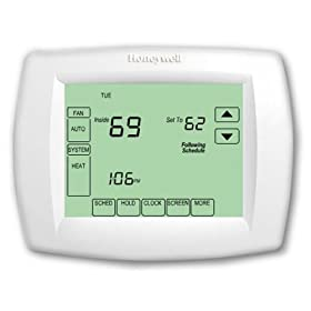 Honeywell TH8110U1003 VisionPRO Universal Programmable Thermostat With Change/Check Reminders