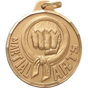 1 1/4 Inch Martial Arts Medal