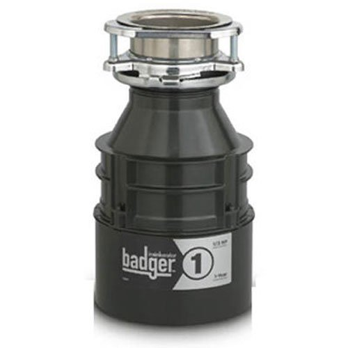 InSinkErator Badger 1, 1/3 HP Household Food Waste Disposer (Insinkerator Badger 1 1 3 Hp compare prices)