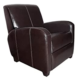 leather armchair club chair from target living room