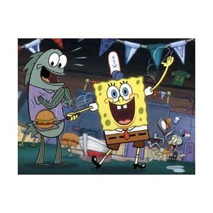Nickelodeon SpongeBob Squarepants Burger Time 100 Pieces - 1