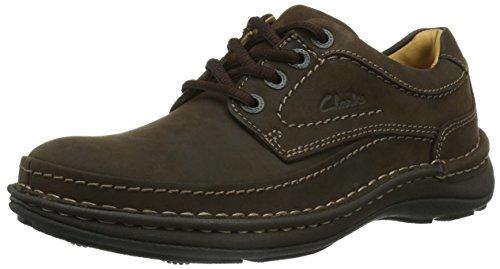 clarks-nature-three-mens-lace-up-shoes-ebony-oily-43-eu
