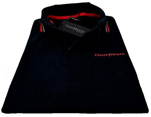 Maglia Polo Maniche Corte Uomo Cesare Paciotti Polo Men Short Sleeves CP13PS #1-Nero-XL