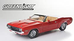 1970 Dodge Challenger R/T Convertible Rallye Red 1/18