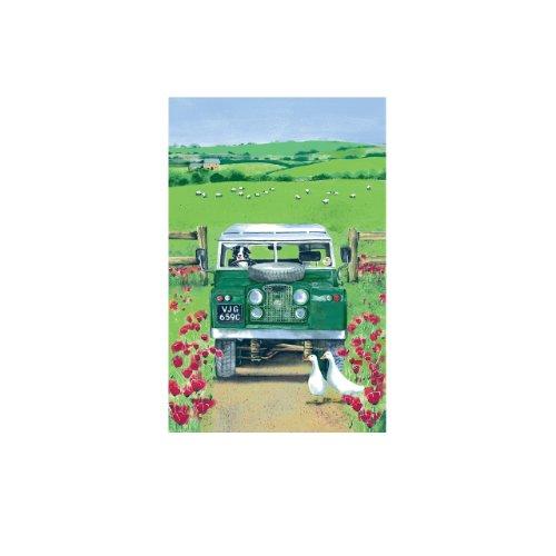 Ulster Weavers Landrover Linen Tea Towel