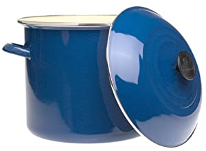 12 Quart Stock Pot - Blue