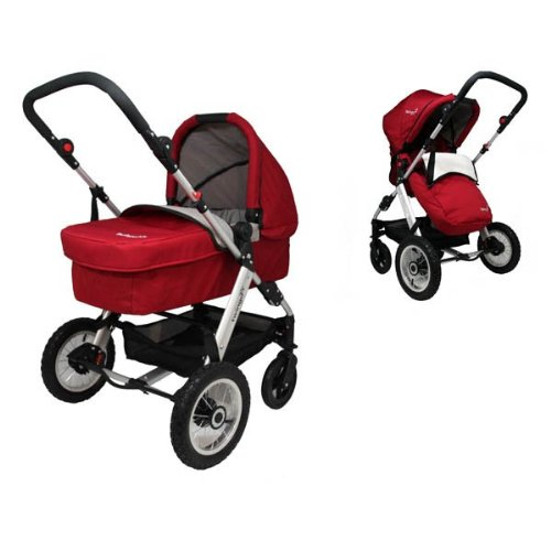 Why Choose The Twingo Classic 2 in 1 Full Travel System - Red