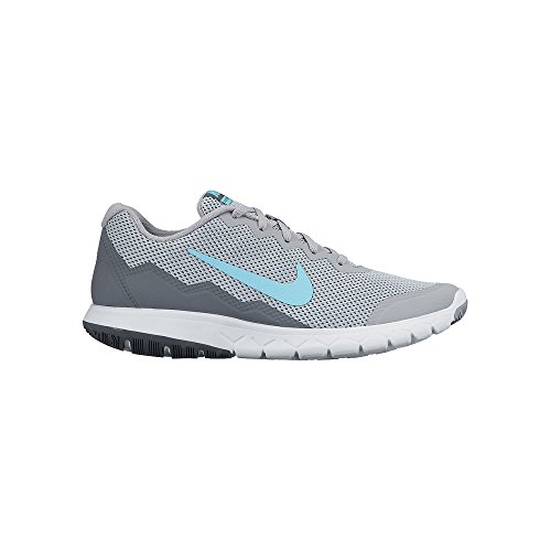 Nike Womens Flex Experience Rn 4 Running Shoe Wlf Grey/Td Pl Bl/Cl Gry/White 8 B(M) US