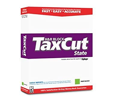 H&R Block TaxCut State, 2003 Edition