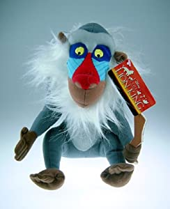 "9"" Disney's The Lion King Rafiki the Mandrill Plush Doll"