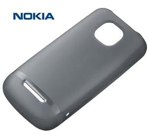 Nokia Soft Custodia Originale per Asha 311, Nero