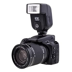 YINYAN CY-20 Small mini Hot Shoe Flash w/ PC Sync Port For Nikon D300S D7000