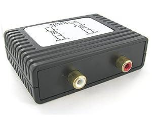One Pair Passive Left/Right Audio Balun UTP AV to Cat5