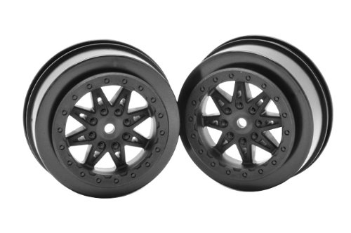 Axial AX08104 2.2/3.0 Raceline Renegade Wheels (2-Piece), 34mm, Black