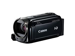 Canon Legria HF R506 High Definition Camcorder - Black (3.2MP, 32x Optical Zoom, 57x Advanced Zoom, Optical Image Stabilisation) 3inch LCD