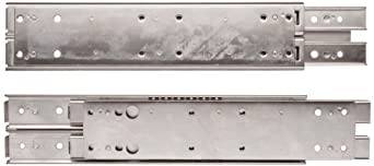 Sugatsune ESR-5 304 Stainless Steel Drawer Slide, 3/4 Extension, Positive Stop (1 Pair)