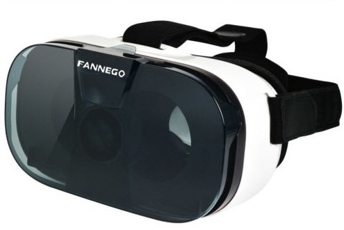 "FANNEGO 3D VR Headset Virtual Reality Glasses for 3d Movies And Games Compatiable with IOS/Android 4.0""-6.5"" Smartphone"