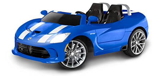 Kid Trax Dodge Viper SRT 12V Ride On (Battery Powered Two Seater Car compare prices)