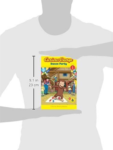 Curious George: Dance Party (Curious George: Level 1)