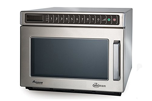 Amana Commercial Digital Microwave .6 Cft Countertop 1200 Watt Heavy Volume Model Hdc12A2