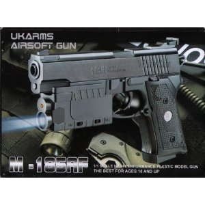 Airsoft Pistols Gun with Laser Sight Tactical Light 6mm Bb Spring Handgun Picture