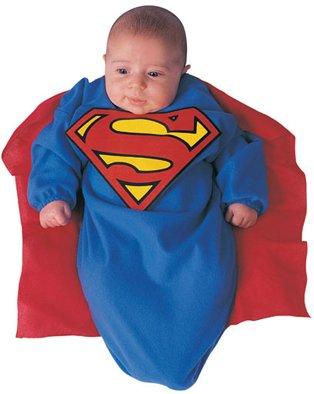 Kids Halloween Costumes Newborn Baby Superman