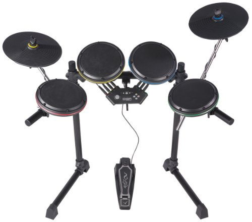 ION Audio Drum Rocker Rock Band 2 Drum Set