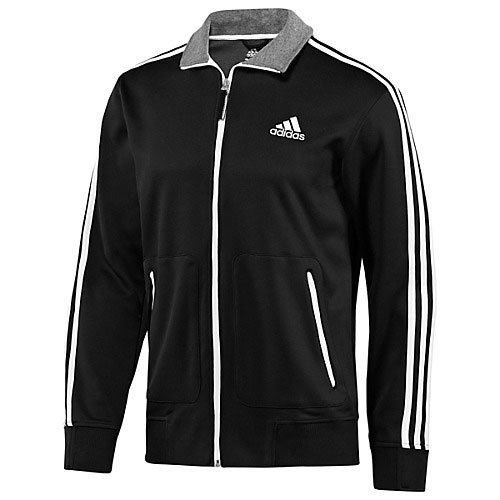 Adidas Men's Ultimate Full Zip 3 Stripe Track