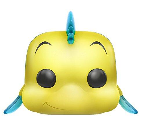 Funko - Figurine Disney La Petite Sirene - Polochon / Flounder Pop 10cm - 0889698117388
