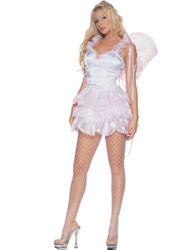 Baby Pink Pixie With Wings Fairy Sprite Theatre Costumes