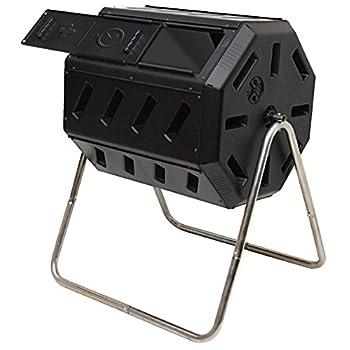 Yimby Tumbler Composter, Color Black