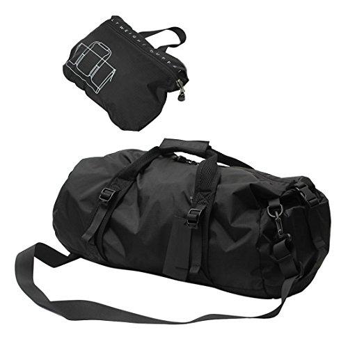 sporttasche-itechor-faltbarer-leichter-sport-gear-wasserdichte-travel-duffel-gym-sporttasche-schwarz