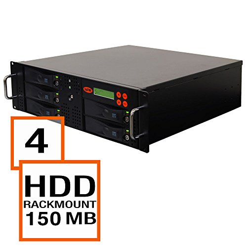 Systor 1:4 Sata Hard Disk Drive / Solid State Drive (Hdd/Ssd) Rackmount Clone Duplicator/Sanitizer - High Speed (150Mb/Sec) (Sys204Rmhdd) front-287901