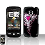 Bling Case Hearts Purple Droid incredible