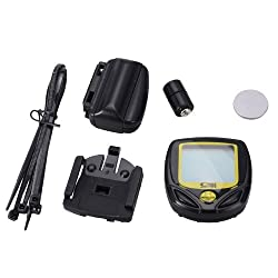 SD-548C Wireless 14 Functions Bike Computer - Black