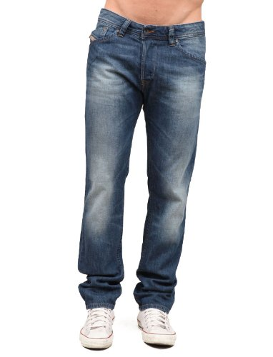 Diesel Darron Rxm8 Droite Resserré Blue Man Jeans Men - W32 L32
