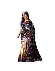 CSE Bazaar Women Indian Beautiful Fancy Beautiful Women Party Wear Saree - B00SO88O7G