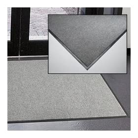 Wearwell Clean Zone Mat - 3X4' - Light Gray - Light Gray - 3x4'