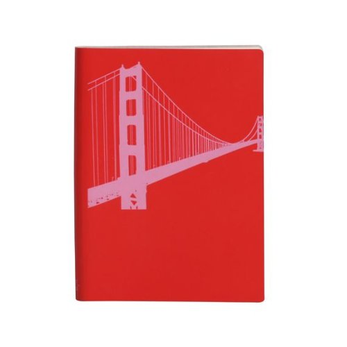 paperthinks-poppy-red-golden-gate-bridge-large-slim-recycled-leather-notebook-45-x-65-inches