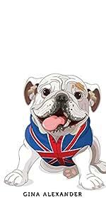 Gina Alexander iPhone 6 Plus Transparent Case (Engish Bulldog)
