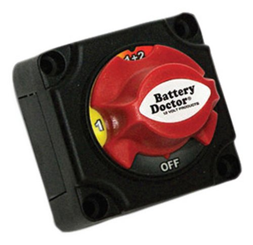 WirthCo 20393 Battery Doctor Rotery Dial Disconnect Switch