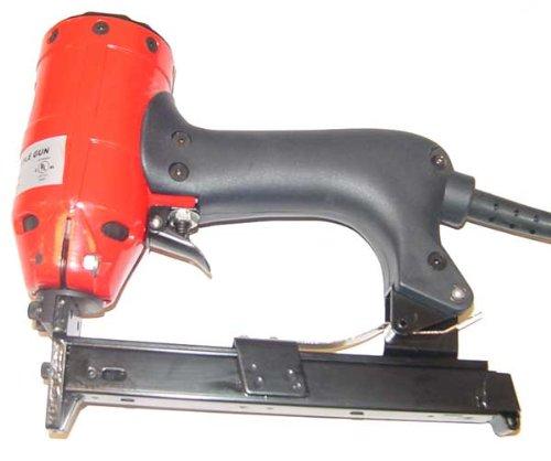Heavy Duty Electric Crown Staple Gun Stapler Trim Nail