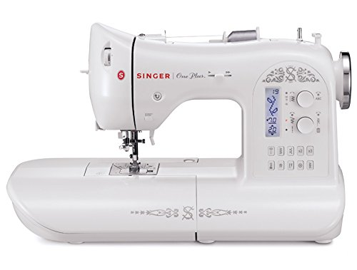 SINGER One Plus 221-Stitch Computerized Sewing Machine with LCD Screen and Instructional DVD
