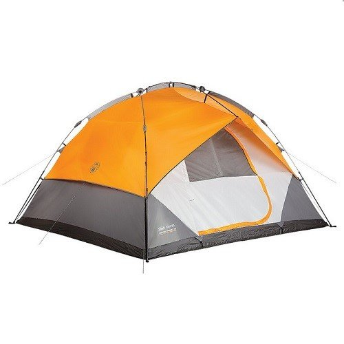 Coleman Company Signature Insant Dome 7 Person Double Hub Tent, Yellow (Coleman Instant Dome 7 compare prices)