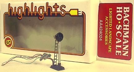 Ho Scale Trains Electric Target Track Signal Light